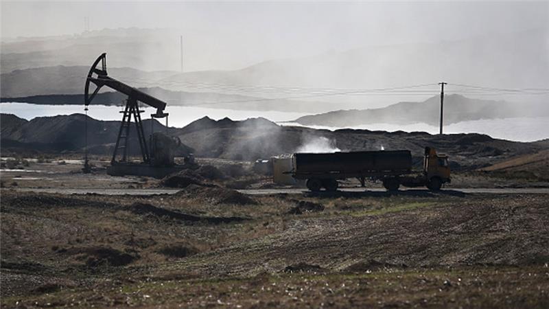 Isil oil fields