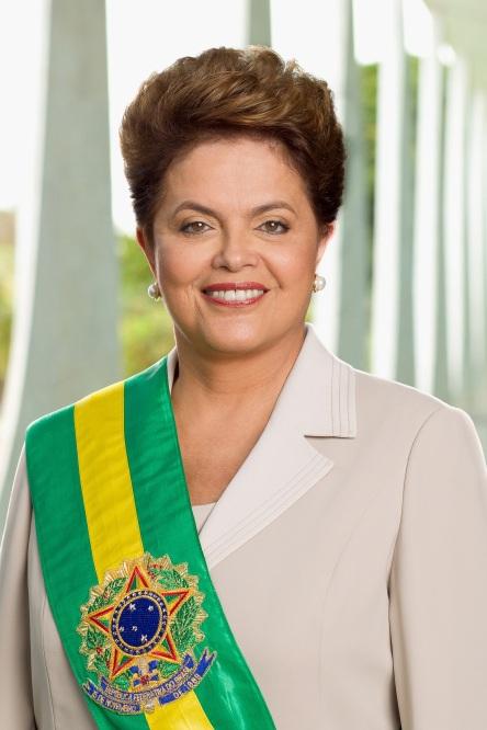 Foto Oficial Presidenta Dilma Rousseff.  Foto: Roberto Stuckert Filho.